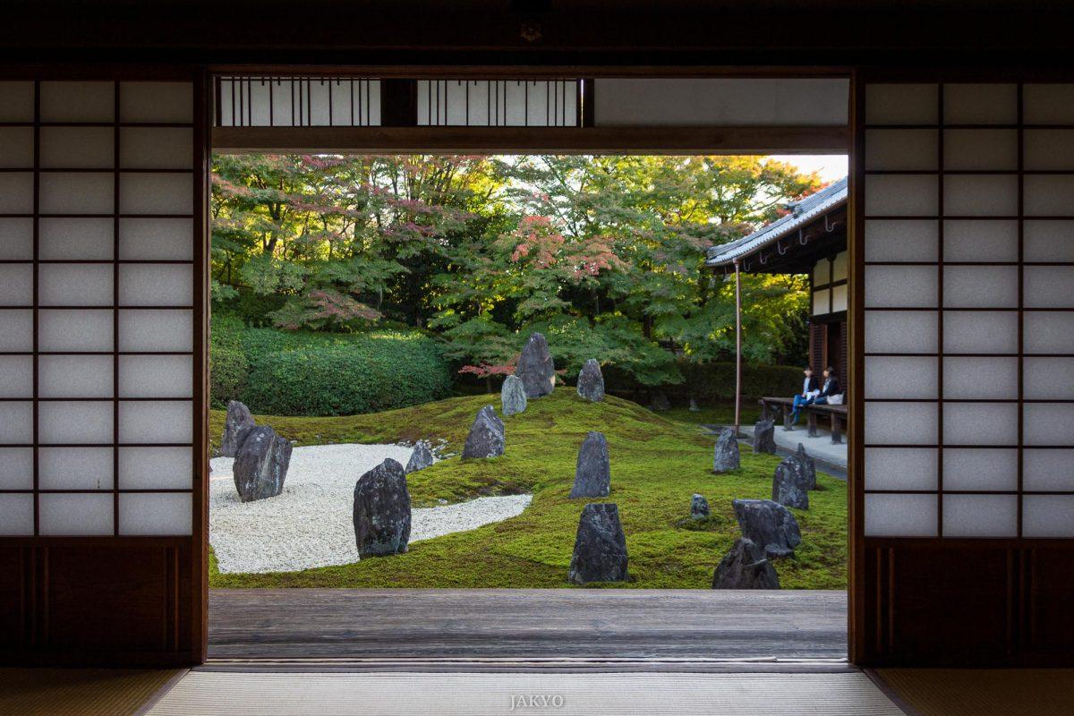 Komyoin, subtemple of Tofukuji, Kyoto / J2015, Japan, Kansai, Kioto, Kyoto, Tempel, Temple, Tofukuji, お寺, 京都, 仏教, 仏閣, 日本, 東福寺, 関西