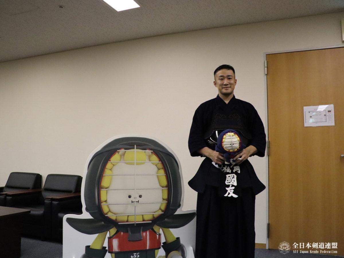 Kunitomo: muss nun auch für Werbezwecke mit dem Kendolöwen Bushishi herhalten.