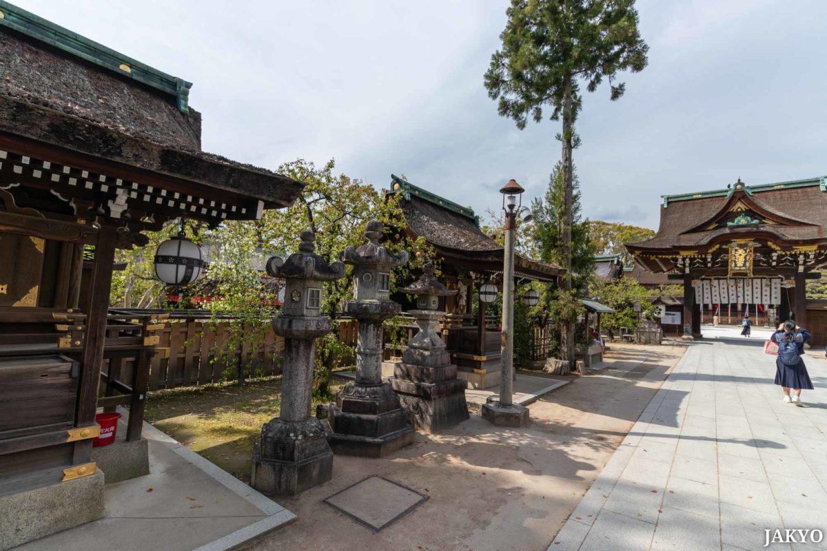 Kitano Tenmangu shrine, Kyoto / J2019, Japan, Kansai, Kioto, Kyoto, 京都, 日本, 関西