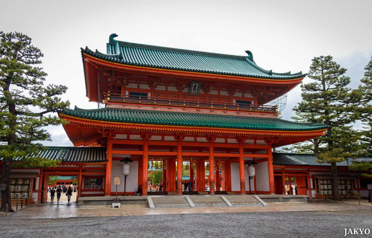 Heian Jingu shrine, Kyoto / Heian Jingu, Heian Schrein, J2019, Japan, Kansai, Kioto, Kyoto, Schrein, Shinto, Shintoism, Shrine, しんとう, じんじゃ, 京都, 平安神宮, 日本, 神社, 神道, 関西