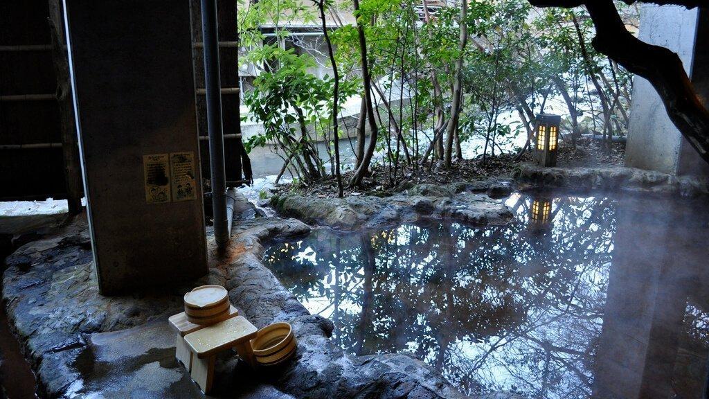Onsen Sento Badehaus Japan