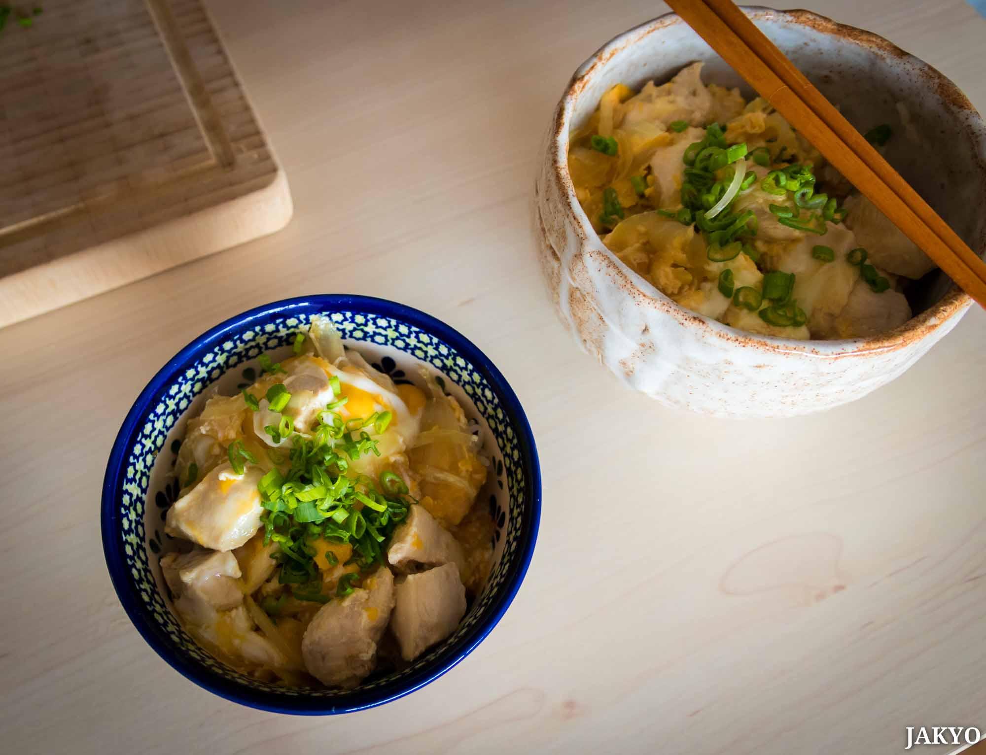 Oyakodon Zubereitung Kochen / Donburi, Essen, Food, Japanese Food, Japanisches Essen, Oyakodon, どんぶり, 丼, 和食, 料理, 日本料理, 親子丼, 食べ物